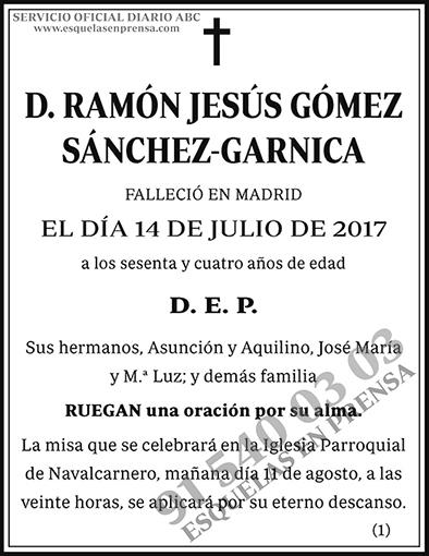 Ramón Jesús Gómez Sánchez-Garnica